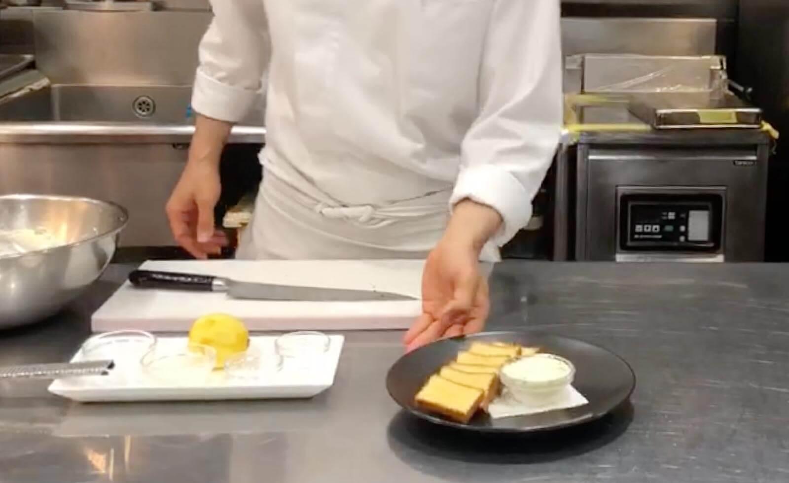 【シェフが教えるレシピ】フレッシュハーブと国産レモンを使った「フレッシュハーブとレモンのクリームチーズ」