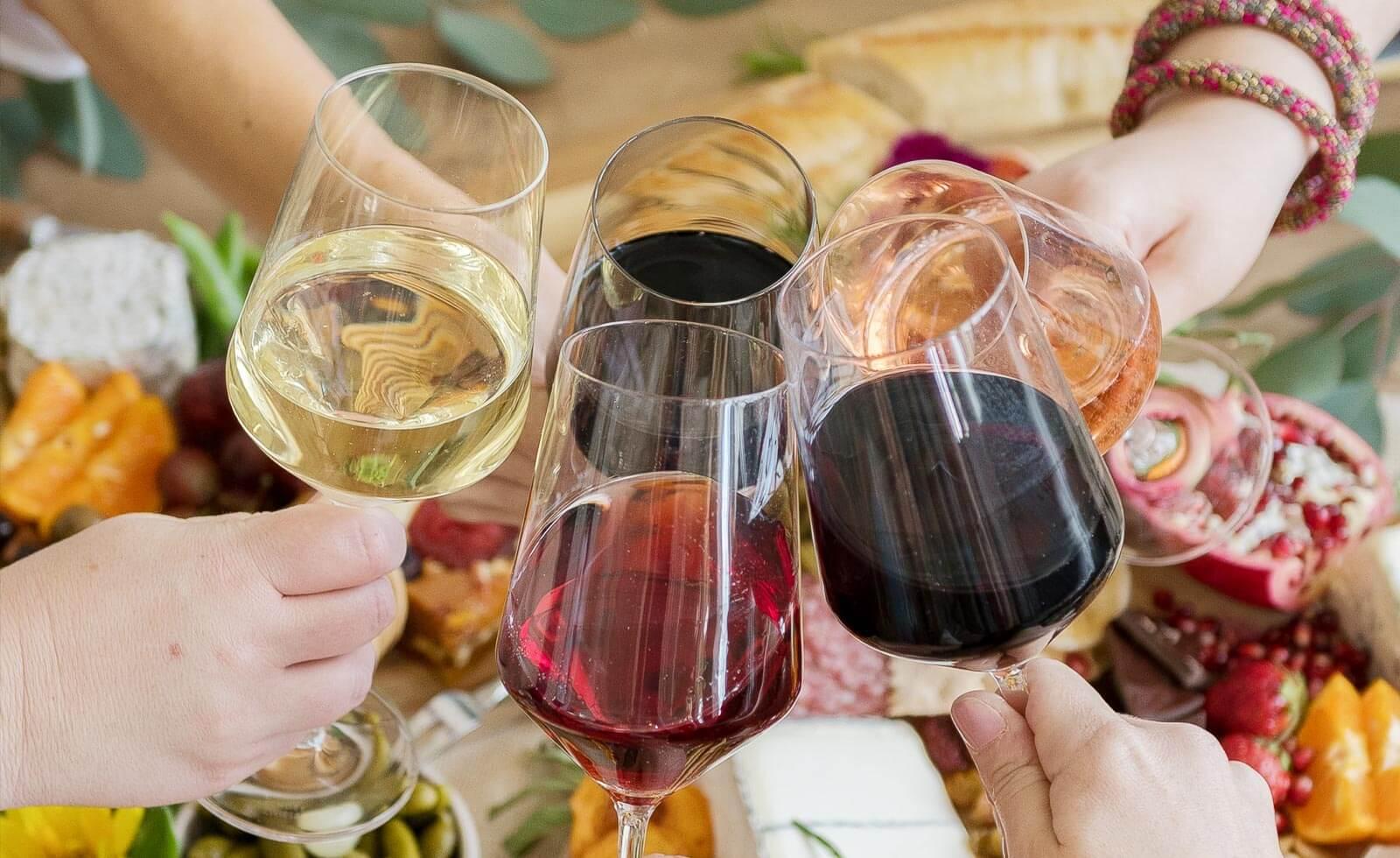 【カリフォルニアワイン初歩の初歩】ワインの色は味の違い。どうやって選ぶ?